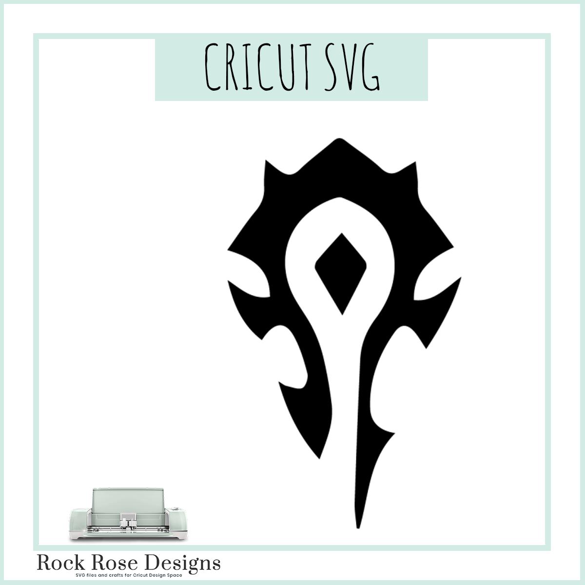 World Of Warcraft Horde Svg File Rock Rose Designs