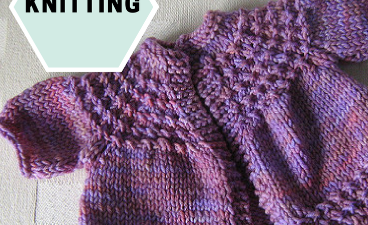 FREE PATTERN: 5 Hour baby sweater
