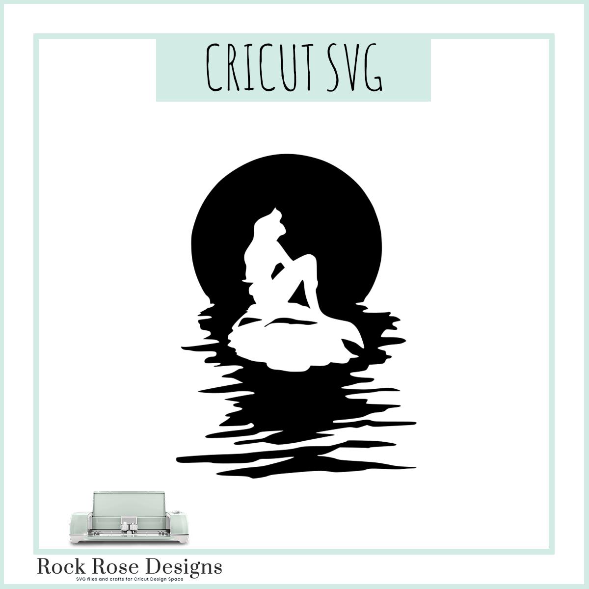 The Little Mermaid Svg Cut File Rock Rose Designs
