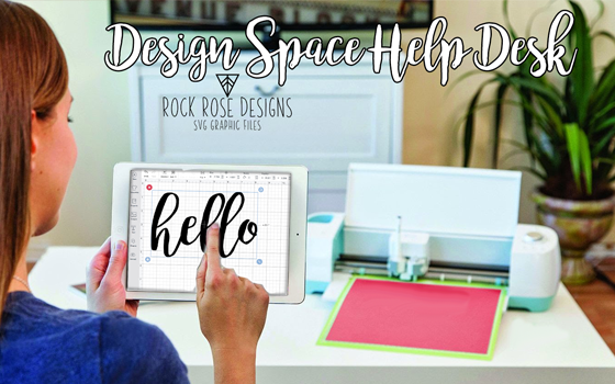 How to upload our SVGs into Design Space