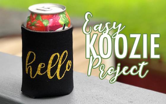Hello Koozie Project