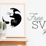 New Free Yin + Yang Cat SVG