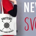 Knitters don't share needles – SVG