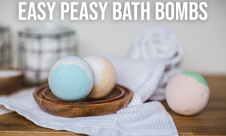 Easy Peasy Bath Bombs? YEAH!