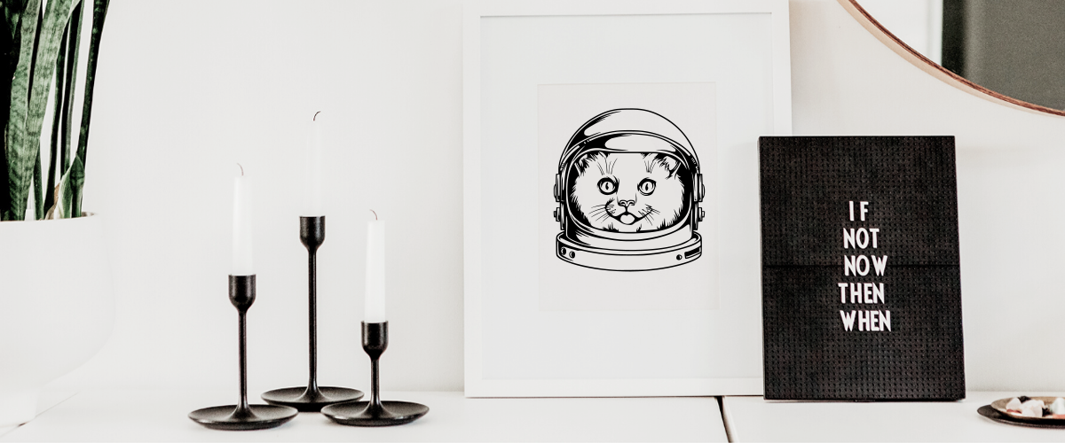 Space Cat SVG