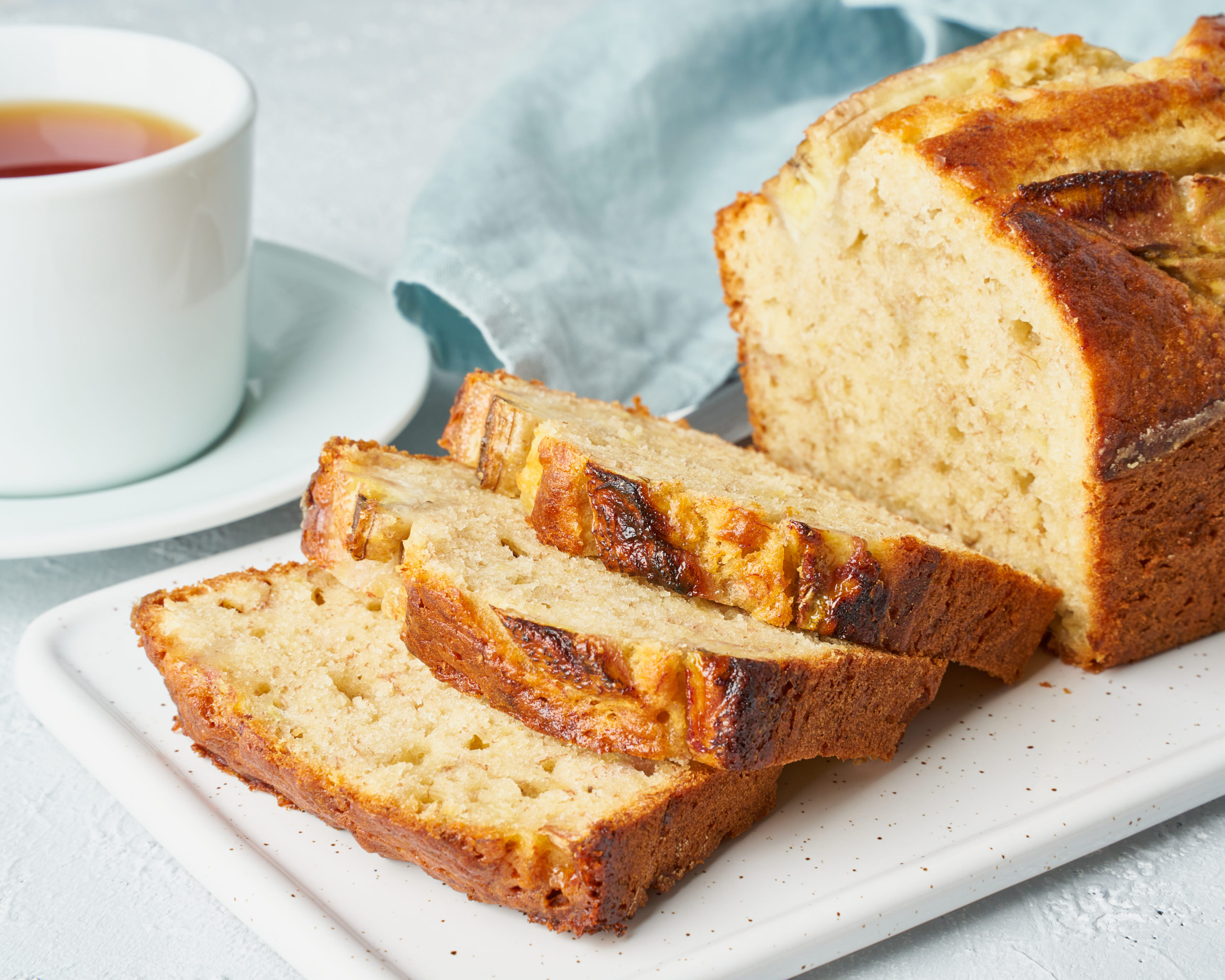 Easy 15 Minute Banana Bread
